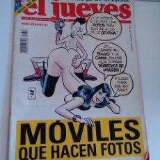 Coleccionismo de Revista El Jueves: REVISTA EL JUEVES. MÓVILES QUE HACEN FOTOS. POSTER MATT DAMON. N1337 ENERO 2003. Lote 262403675