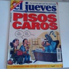 Coleccionismo de Revista El Jueves: REVISTA EL JUEVES. PISOS CAROS. CON POSTER CENTRAL TERMINATOR BUSH N 1328 NOVIEMBRE 2002. Lote 262404830