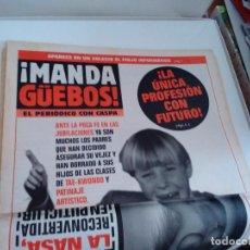 Coleccionismo de Revista El Jueves: MANDA GUEBOS. LOTE 6 SUPLEMENTOS REVISTA EL JUEVES.. Lote 262406080