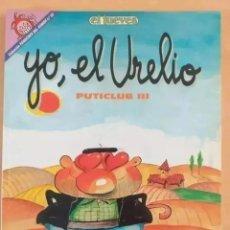 Coleccionismo de Revista El Jueves: PENDONES DEL HUMOR NUM 65. PUTICLUB III. YO, EL URELIO.. Lote 262411685