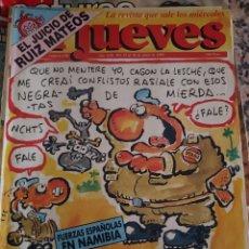 Coleccionismo de Revista El Jueves: REVISTA EL JUEVES 1989. Lote 263674365