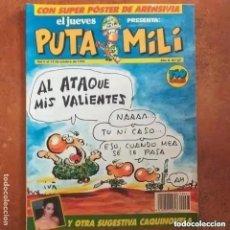 Collectionnisme de Magazine El Jueves: PUTA MILI NUM 67. Lote 264747249