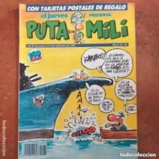 Collectionnisme de Magazine El Jueves: PUTA MILI NUM 70. Lote 264747319