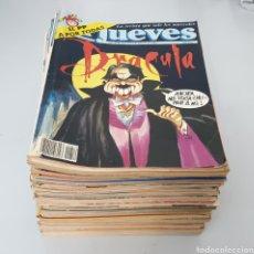 Coleccionismo de Revista El Jueves: LOTE DE 64 REVISTAS EL JUEVES AÑO 1992 Y 1993. Lote 266162628