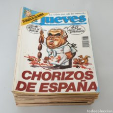 Coleccionismo de Revista El Jueves: LOTE DE 46 REVISTAS EL JUEVES AÑO 1990 Y 1991. Lote 266162793