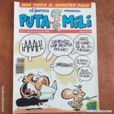 Collectionnisme de Magazine El Jueves: PUTA MILI NUM 15. Lote 266168633