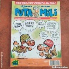 Collectionnisme de Magazine El Jueves: PUTA MILI NUM 18. Lote 266346583