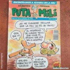 Collectionnisme de Magazine El Jueves: PUTA MILI NUM 19. Lote 266346628