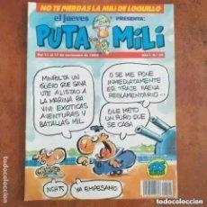 Collectionnisme de Magazine El Jueves: PUTA MILI NUM 20. Lote 266346648