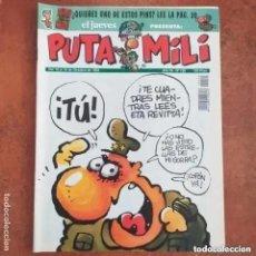 Collectionnisme de Magazine El Jueves: PUTA MILI NUM 120. Lote 266346848