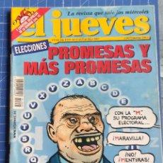 Coleccionismo de Revista El Jueves: REVISTA EL JUEVES Nº 1356. Lote 269450048