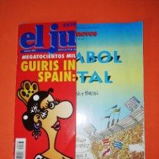 Coleccionismo de Revista El Jueves: EL JUEVES. Nº 893. CON EL SUPLEMENTO FUMBOL TOTAL DE TABARÉ.. Lote 270684878