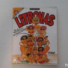 Coleccionismo de Revista El Jueves: LITRONAS. COL. PENDONES DEL HUMOR. NUM.23. Lote 271533008