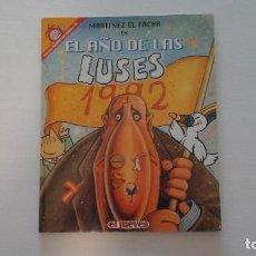 Coleccionismo de Revista El Jueves: EL AÑO DE LAS LUSES. COL. PENDONES DEL HUMOR. NUM. 96. Lote 271533413