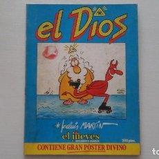 Coleccionismo de Revista El Jueves: EL DIOS. EL JUEVES. SUPLEMENTO SEMANAL. JOSE LUIS MARTIN.. Lote 271631163