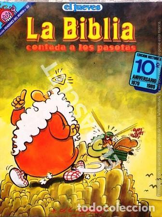 ANTIGUA REVISTA EL JUEVES - LA BIBLIA - CONTADA A LOS PASOTAS (Coleccionismo - Revistas y Periódicos Modernos (a partir de 1.940) - Revista El Jueves)