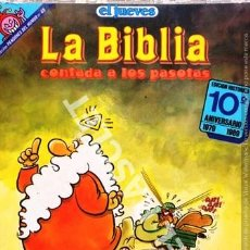 Coleccionismo de Revista El Jueves: ANTIGUA REVISTA EL JUEVES - LA BIBLIA - CONTADA A LOS PASOTAS. Lote 272736403