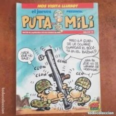 Collectionnisme de Magazine El Jueves: PUTA MILI NUM 14. Lote 274527373