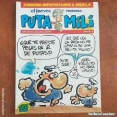 Collectionnisme de Magazine El Jueves: PUTA MILI NUM 11. Lote 274527408