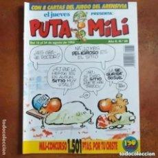 Collectionnisme de Magazine El Jueves: PUTA MILI NUM 60. Lote 274527508