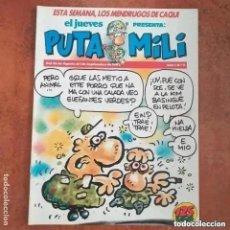 Collectionnisme de Magazine El Jueves: PUTA MILI NUM 9. Lote 274677568