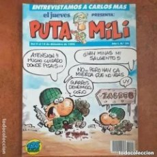 Collectionnisme de Magazine El Jueves: PUTA MILI NUM 24. Lote 274677643
