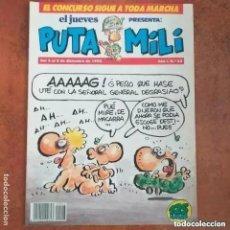 Collectionnisme de Magazine El Jueves: PUTA MILI NUM 23. Lote 274677818