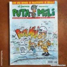 Collectionnisme de Magazine El Jueves: PUTA MILI NUM 102. Lote 275451983