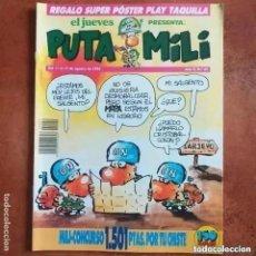 Collectionnisme de Magazine El Jueves: PUTA MILI NUM 59. Lote 275452193