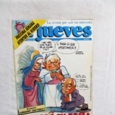 Coleccionismo de Revista El Jueves: REVISTA EL JUEVES Nº 653 MILAGRO EN ROMA NOVIEMBRE - DICIEMBRE DE 1989. Lote 276928443