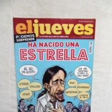 Coleccionismo de Revista El Jueves: REVISTA EL JUEVES Nº 1932 JUNIO DE 2014 HA NACIDO UNA ESTRELLA. Lote 276928898