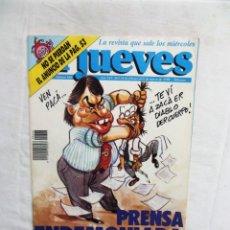Coleccionismo de Revista El Jueves: REVISTA EL JUEVES Nº 666 FEBRERO - MARZO DDE 1990 PRENSA ENDEMONIADA. Lote 276929448