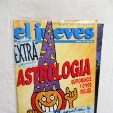 Coleccionismo de Revista El Jueves: REVISTA EL JUEVES EXTRA Nº 540 SEPTIEMBRE - OCTUBRE DE 1987 ASTROLOGIA , QUIROMANCIA Y OTRO ROLLOS. Lote 276930928