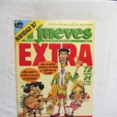 Coleccionismo de Revista El Jueves: REVISTA EL JUEVES EXTRA Nº 550 DICIEMBRE DE 1987. Lote 276934033