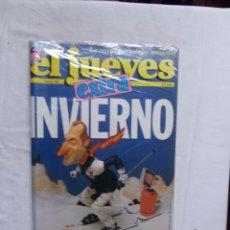 Coleccionismo de Revista El Jueves: REVISTA EL JUEVES EXTRA Nº 602 INVIERNO CON CALENDARIO DE 1989. Lote 276938843
