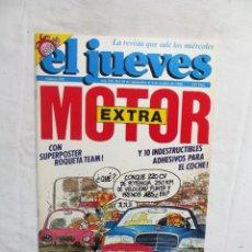 Coleccionismo de Revista El Jueves: REVISTA EL JUEVES EXTRA Nº 592 SEPTIEMBRE - OCTUBRE DE 1988 MOTOR. Lote 276939138