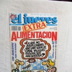 Coleccionismo de Revista El Jueves: REVISTA EL JUEVES EXTRA Nº 624 MAYO DE 1989 ALIMENTACION. Lote 276940823