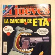 Coleccionismo de Revista El Jueves: LOTE 9 REVISTAS EL JUEVES, DISTINTOS AÑOS, UNA EXTRA. 822-823-829-893-904-948-974-1081-1168. Lote 277572228