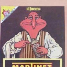 Coleccionismo de Revista El Jueves: PENDONES DEL HUMOR NUM 60. MARTINEZ EL FACHA. LIMPIA-ESPAÑA. Lote 277609868