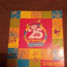 Coleccionismo de Revista El Jueves: 25 AÑOS DE EL JUEVES. Lote 278421843