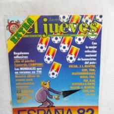 Colecionismo da Revista El Jueves: REVISTA EL JUEVES Nº 263 JUNIO DE 1982 ESPAÑA 82. Lote 287126363