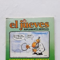 Colecionismo da Revista El Jueves: EL JUEVES SUPLEMENTE MENSUAL, CONSULTORIO SEXUAL DEL DOCTOR COJONCIANO, 1979. Lote 287184298