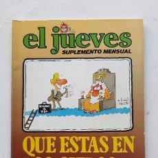 Colecionismo da Revista El Jueves: EL JUEVES SUPLEMENTE MENSUAL, QUE ESTÁS EN LOS CIELOS?, 1979. Lote 287184308
