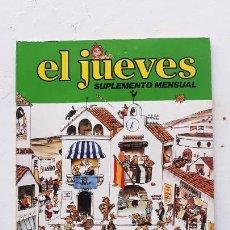 Colecionismo da Revista El Jueves: EL JUEVES SUPLEMENTE MENSUAL, LAS TIERRAS DEL SEÑORITO, 1979. Lote 287184318