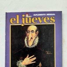 Colecionismo da Revista El Jueves: EL JUEVES SUPLEMENTE MENSUAL, MARTÍNEZ EL FACHA, 1979. Lote 287184323