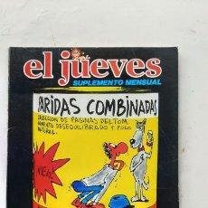 Colecionismo da Revista El Jueves: EL JUEVES SUPLEMENTE MENSUAL, PARIDAS COMBINADAS, 1981. Lote 287184338