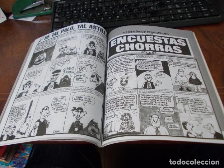 Coleccionismo de Revista El Jueves: Pendones del Humor nº 147 El profesor cojonciano presenta Vamos a darnos un homenaje. 1.999 - Foto 5 - 288326218