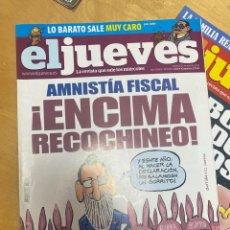 Coleccionismo de Revista El Jueves: LOTE DE REVISTAS RELACIONADAS CON EL JUEVES. SPAN. PUTA MILI. Lote 291452103