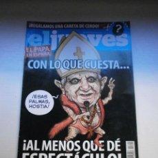 Coleccionismo de Revista El Jueves: 12 REVISTAS EL JUEVES. Lote 291904468