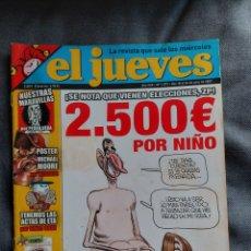 Coleccionismo de Revista El Jueves: EL JUEVES NÚMERO 1573. AÑO 2007. Lote 291963673